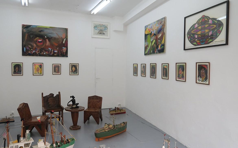 We are the painters (WATP) – Ionel Talpazan – WATP, Paysage, horizon brun (désastre aérien), 2015 & Sans titre (études), 2011 – Ionel Talpazan, Sans titre, 2008