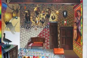 Castle, 2015, huile sur toile, 170 x 210 cm I Collection privée