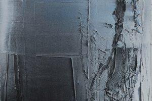 À découvert (AD716), 2016, acrylique sur toile, 65 x 54 cm