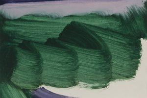 Untitled, 2016, tempera sur papier, 23 x 31 cm