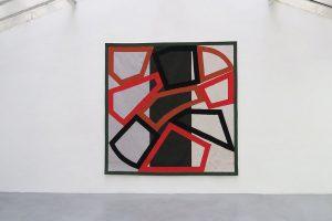 Form and Rhythm, 2015 – tapisserie tissée à la main en laine, 280 x 280 cm – Ateliers Pinton à Felletin