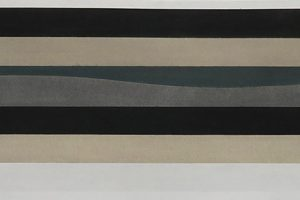 Pile Up – 2014 pastel sur papier – 28 x 114,5 cm