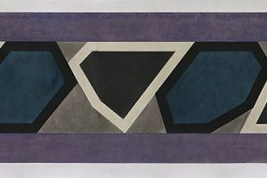 Project for a Long Wall #1- 2016 pastel sur papier - 29,5 x 144 cm