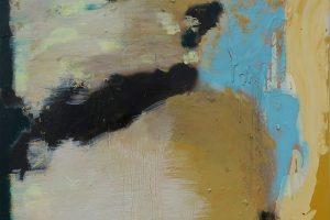 How It Was, 2014-2017 – laque vinyle et huile sur toile, 160 x 120 cm