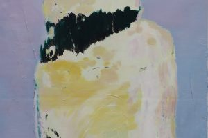 Violence, 2014-2017 – laque vinyle et huile sur toile, 203 x 155 cm