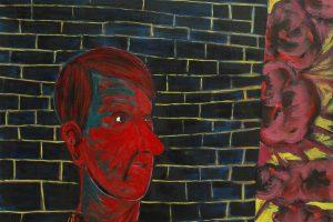 Autoportrait, 2015-2016 – huile sur toile, 162 x 130 cm