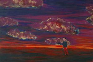Le soldat, 2015-2016 – huile sur toile, 130 x 162 cm