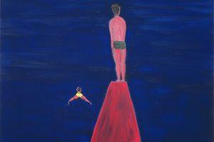Frioul, 2016 – huile sur toile, 195 x 114 cm