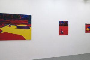 BENJAMIN SWAIM – Deux garçons (Pierre) / Sans titre, 2016, tempera sur papier, 74,5 x 54 cm / Sans titre, 2016, tempera sur papier, 54 x 74,5 cm