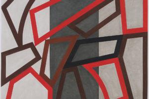 Forms and Rythm #7, 2014, pastel sur papier, 122 x 151 cm