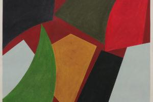 8 Forms Grison (CH), 2017, pastel sur papier, 59 x 70 cm