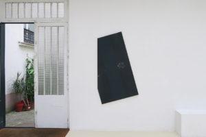 Plakat #3, acrylique sur bois, 149 x 87 cm