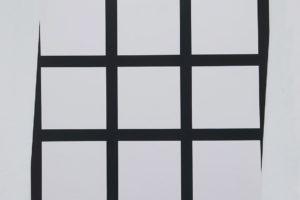 Trames épaisses, 0°-90°, 1979, sérigraphie, 61 x 61 cm