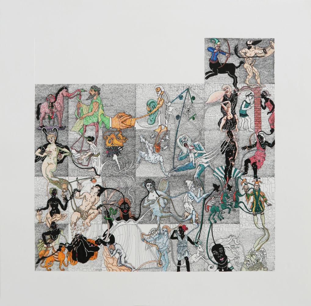 December 2017, Vanessa Tobey Bobb M.D. (Making history : The Case Histories), encre sur papier, 41,5 x 43 cm (encadré)