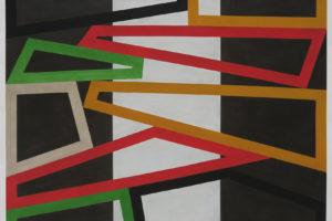 Form & Rhythm #33, 2015, pastel gras sur papier, 122 x 152 cm