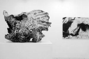 Muted langage, 2018 / For RM, 2018, impression pigmentaire et résine époxyde, 112 x 153 cm