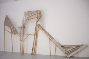 Romain PELLAS, « Rampe », 1998, bois