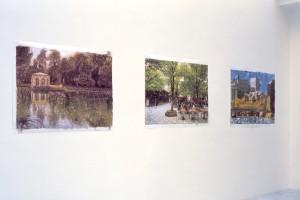 Rainier LERICOLAIS, 2003, encre et eau, 91 x 126 cm