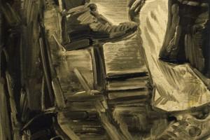 « Polished », 2007, huile sur toile, 70 x 50 cm