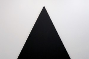 Triangle Painting – 2015, acrylique sur toile, 180 x 180 cm