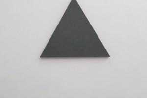 Triangle Painting – 2015, acrylique sur toile, 36 x 36 cm