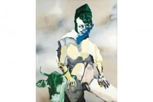« Europe », 2008, huile et acrylique sur toile, 150 x 120 cm