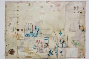 « les oignons sauvages », 2011, encre sur papier, 36 x 51 cm