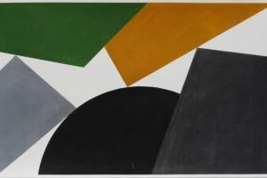 « Creed #2 », 2009, pastel sur papier, 60 x 122 cm