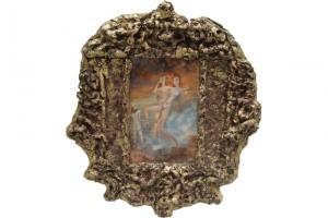 « Annanée répudiée », 2006, technique mixte, 96 x 90 x 10 cm