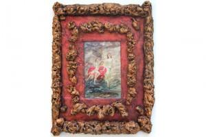 « L'annonce de turbulence », 2006, technique mixte, 103 x 80 x 10 cm