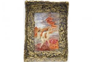 « Oneades et Nuée », 2006, technique mixte, 71 x 51 x 8 cm
