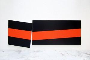 « These Purists », 2007, laque sur toile, 113 x 95 cm