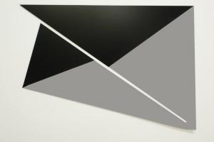« Bird », 2010, peinture sur aluminium, 50 x 70 cm