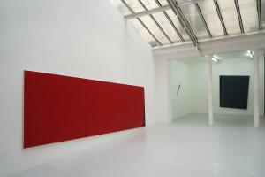 « Iceberg I », 2010, acrylique sur toile, 200 x 500 cm
