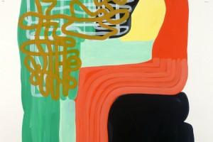 « l'âge », 2011, acrylique sur papier vinci, 120 x 80 cm