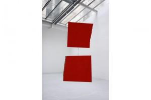 « Stabile », 2002, acrylique sur bois, dimensions variables
