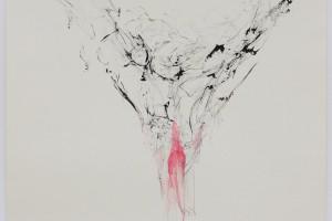 sans titre, 1999, encre sur papier, 55 x 70 cm