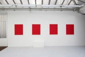 « Collange », « Chapon », « Gravilliers », « Rambuteau », 2012, acrylique sur toile, 92 x 73 cm