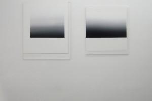 « subversifs 02 » et « subversifs A », 2010, acrylique sur plexiglass, 96 x 80 cm et 82 x 73 cm