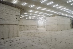 « Concave 03 (Molesme) », 2006, photographies en multi-exposition de carrières souterraines, 40 x 50 cm
