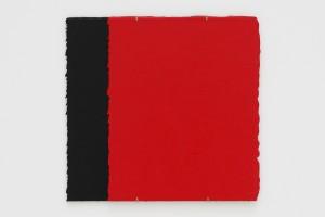 « Cache-cache n°17 », 2000, acrylique sur carton, 30 x 24 cm