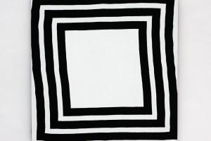 « Cible », 2008, acrylique sur tissu, 90 x 90 cm