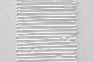 Fait au tube # 5 – 2014, acrylique sur toile, 24 x 18 cm