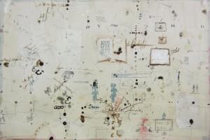 « livre », 2013, encre et aquarelle sur papier, 38 x 57 cm