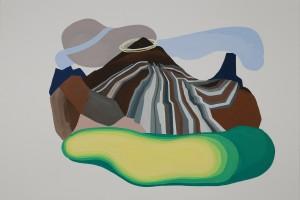 «Paysage», 2012, gouache sur papier, 75 x 110 cm