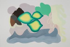 Sans titre, 2012, gouache sur papier, 75 x 110 cm