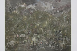 « Course », 2014, huile sur toile, 130 x 162 cm