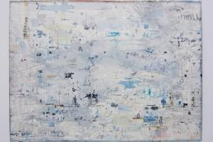 « Line 3 », 2014, technique mixte sur papier, 76 x 104,5 cm