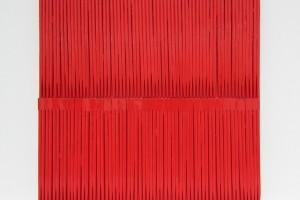 Wok – 2014, laque sur bois, 42 x 42 cm