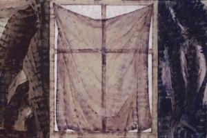 « Nocturne », acrylique sur lin – triptyque, 231 x 180 cm chaque